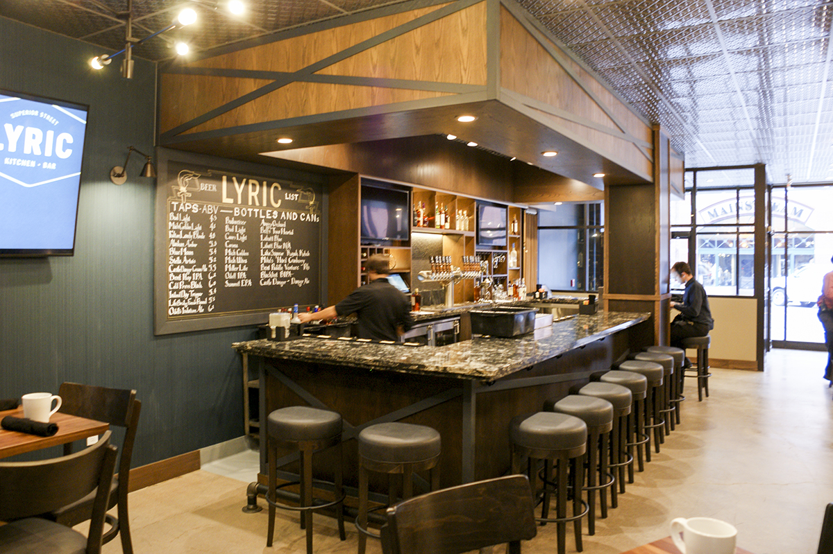 Kraus Anderson Completes Remodel Of Lyric Kitchen Bar In Downtown Duluth Kraus Anderson