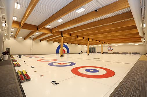 Chaska Curling interior