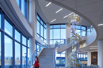 Staircase, HealthPartners Neuroscience Center Top Projects Neuroscience Center
