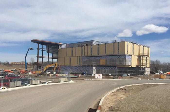 Construction of TRIA Orthopaedic Center