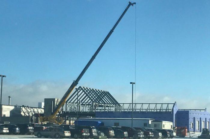 Sanford Health Lueken Cancer Center under construction