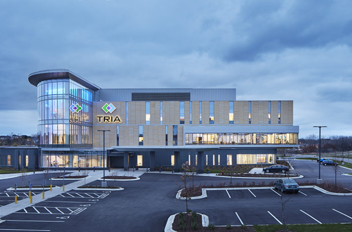 TRIA Orthopaedic Center exterior Top Projects TRIA