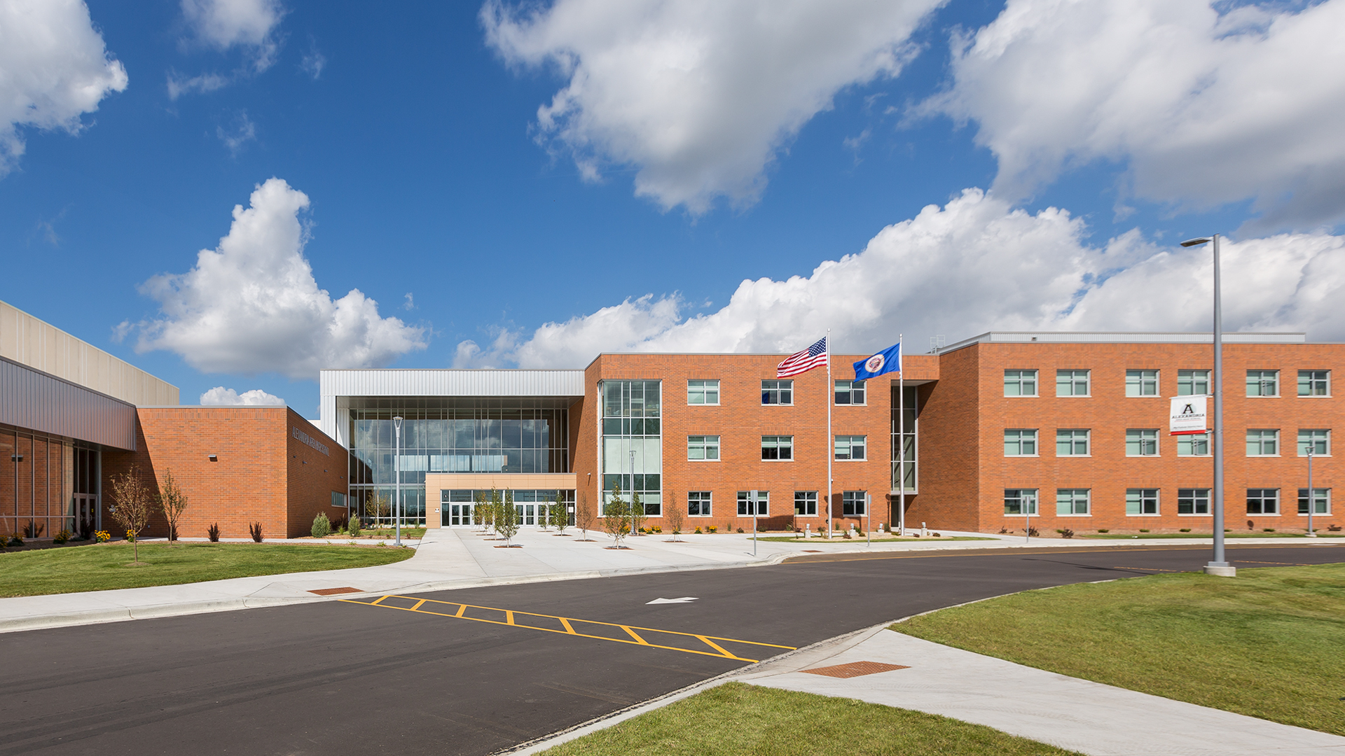 the future is now alexandria high school opens kraus