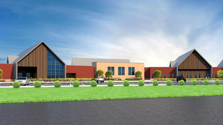Cambia Hills Treatment Facility East Bethel MN Rendering View From Northwest