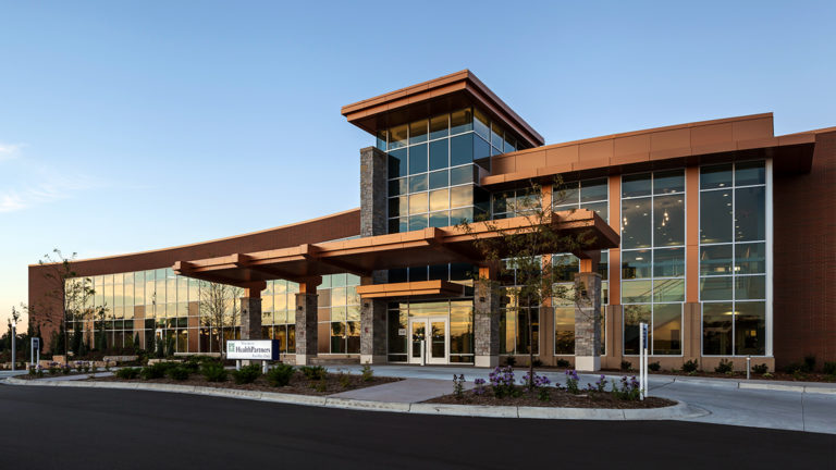 HealthPartners Riverway Clinic Anoka Exterior Front Elevation