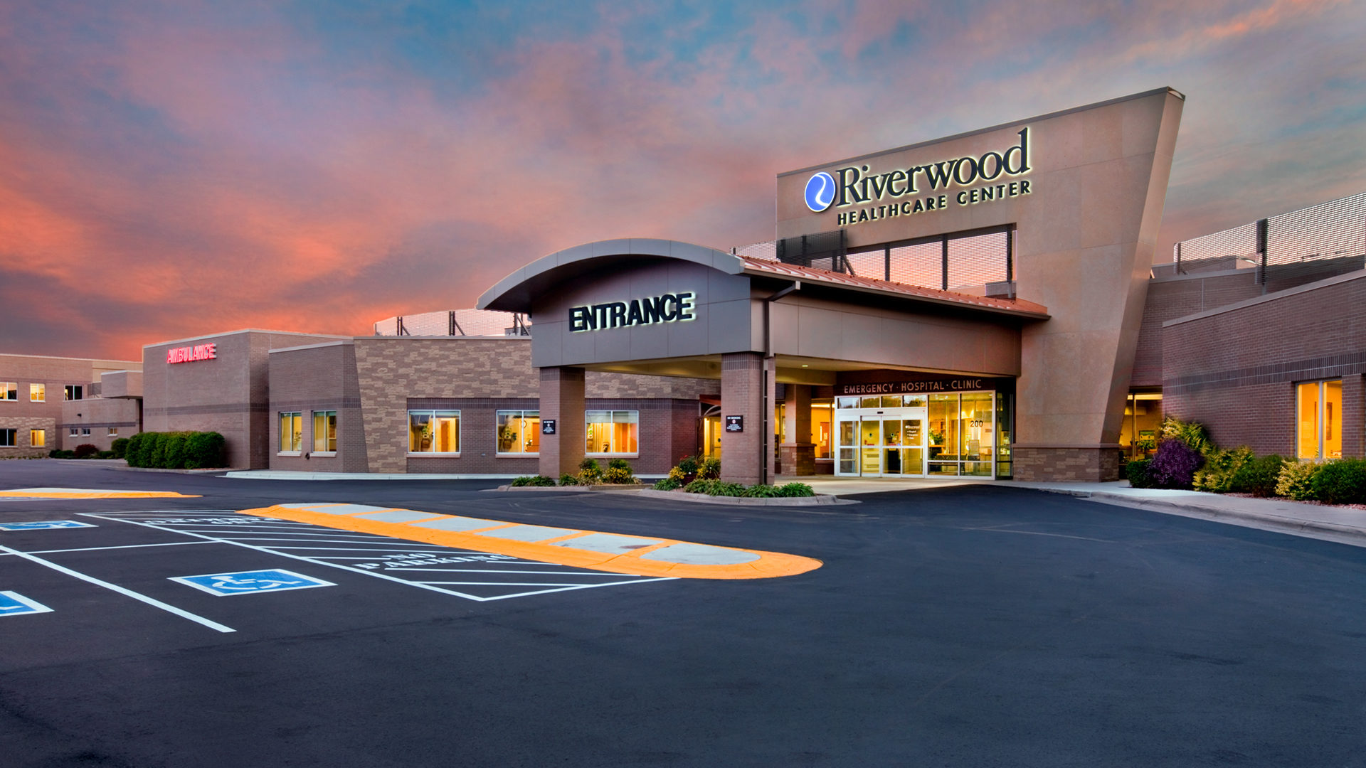 Riverwood Health Care Center Aitkin MN Exterior Entrance View