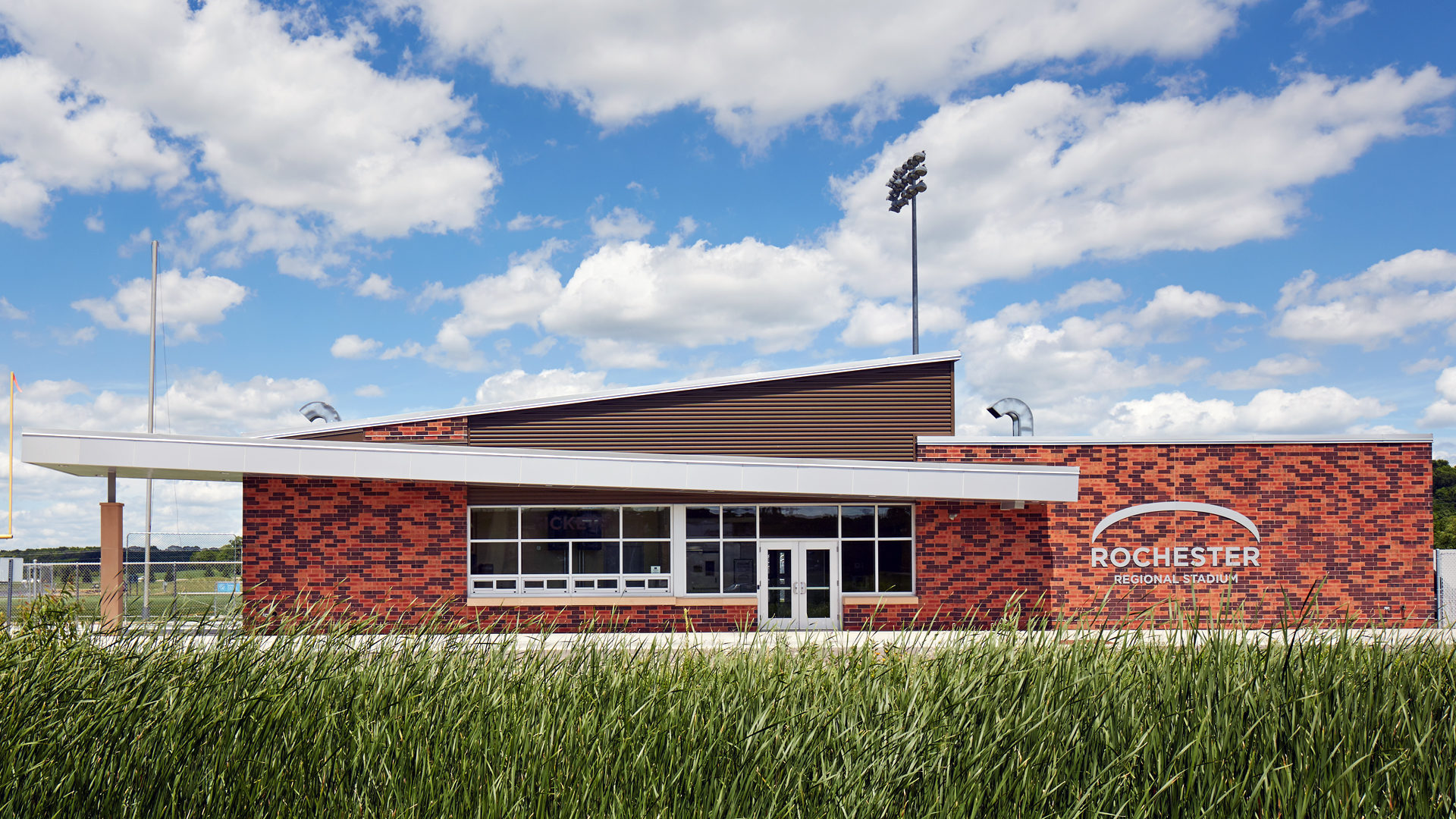 Rochester Community and Tech College RCTC Sports Stadium Rochester MN Field House