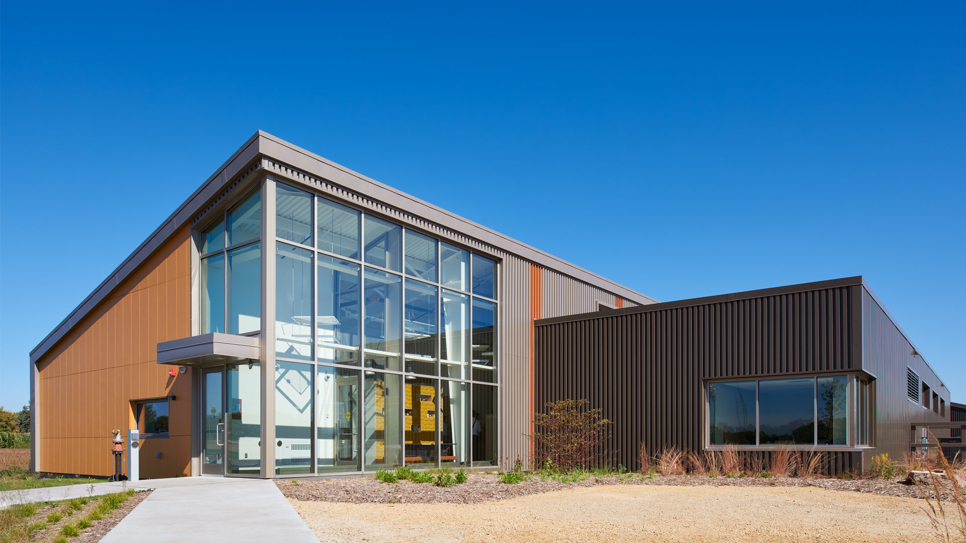 U of M Bee Research Facility St Paul MN College University Exterior Entrance View