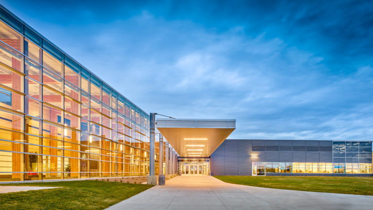 Watford Event Center Watford ND Government Exterior Entrance View