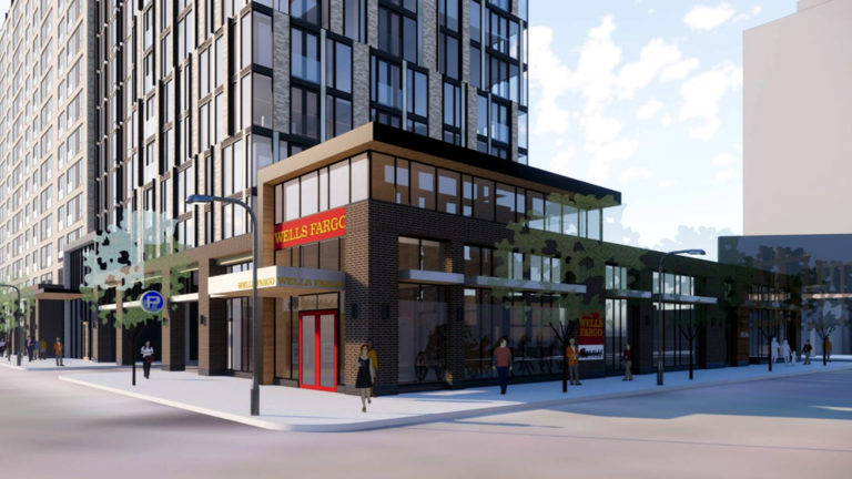 Wells Fargo 8th and Portland Minneapolis MN Residential Mixed Use Development_Showing Well Fargo Bank Branch