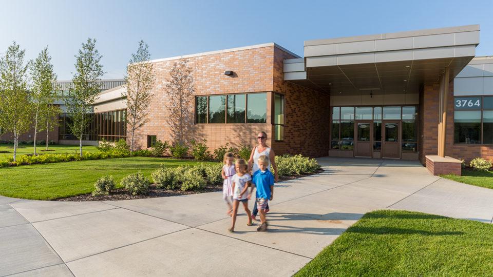Karner Blue Education Center Blaine Exterior Entrance to the School