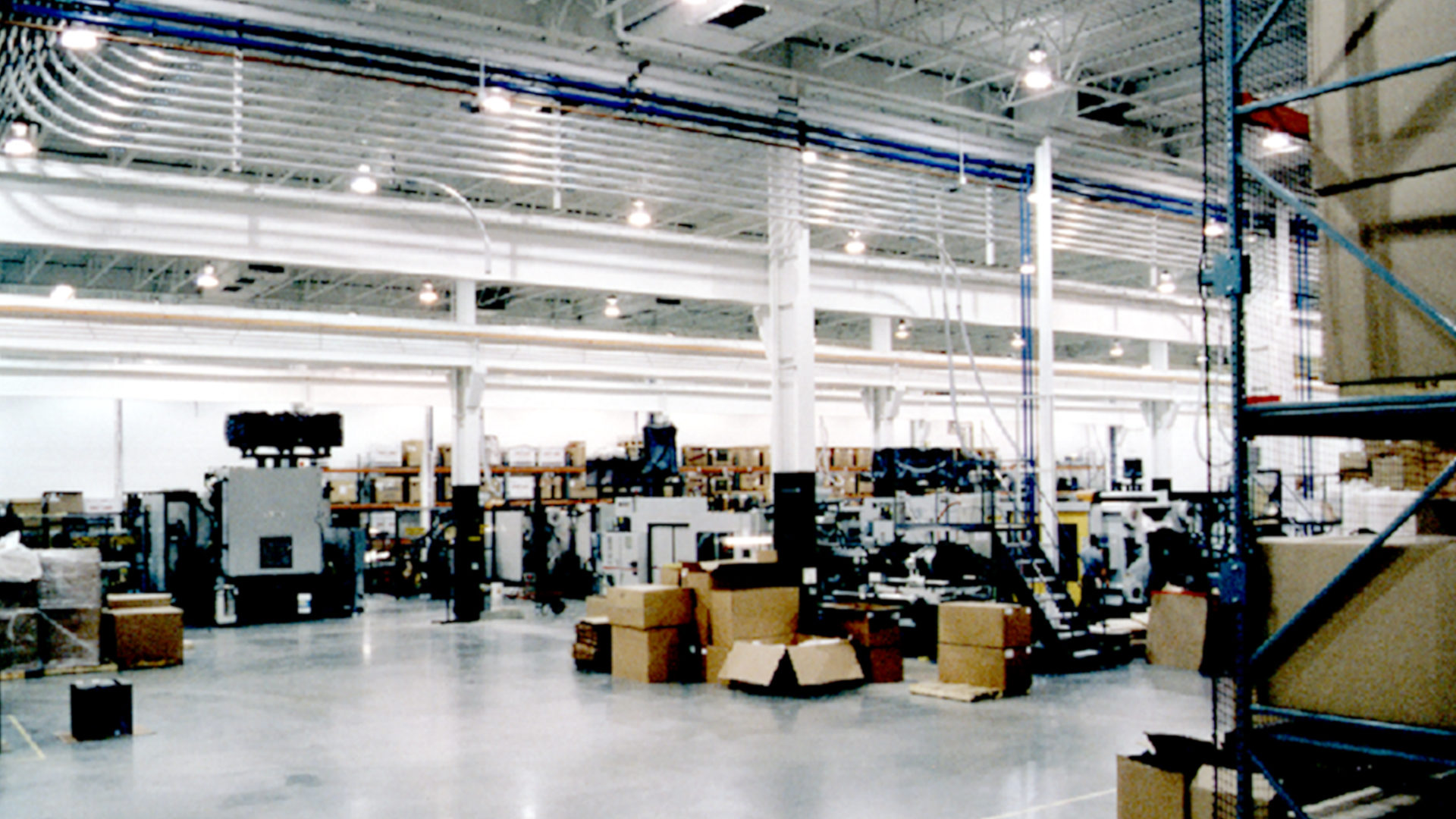 Polaris Industries Roseau MN Manufacturing Facility Interior Warehouse