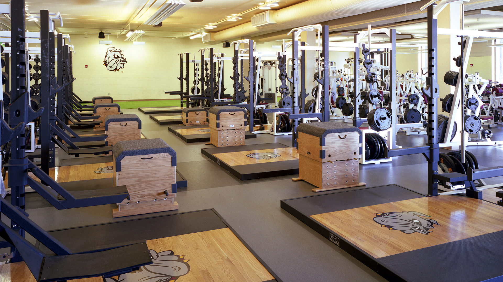 U of M Duluth Sports and Health Center Duluth MN Weight Room
