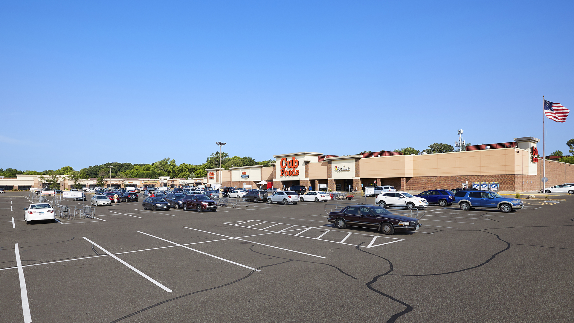 Valley West Shopping Retail Center Bloomington MN Anchor Cub Foods