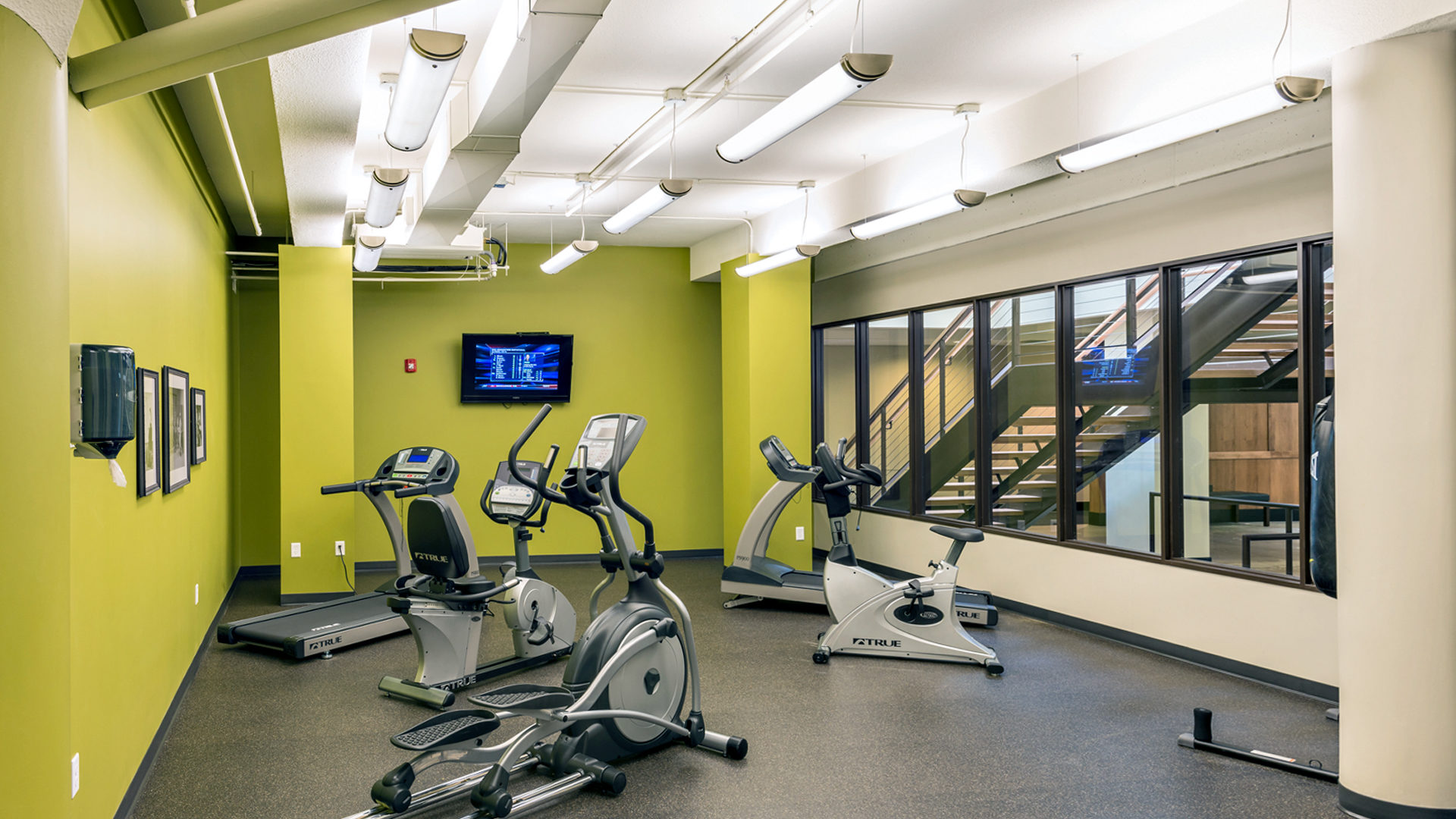 430 Oak Grove Apartments_Interior Fitness Center