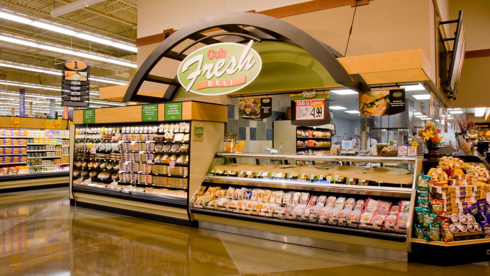 Cub Foods Phalen Grocery Store Interior Deli Counter