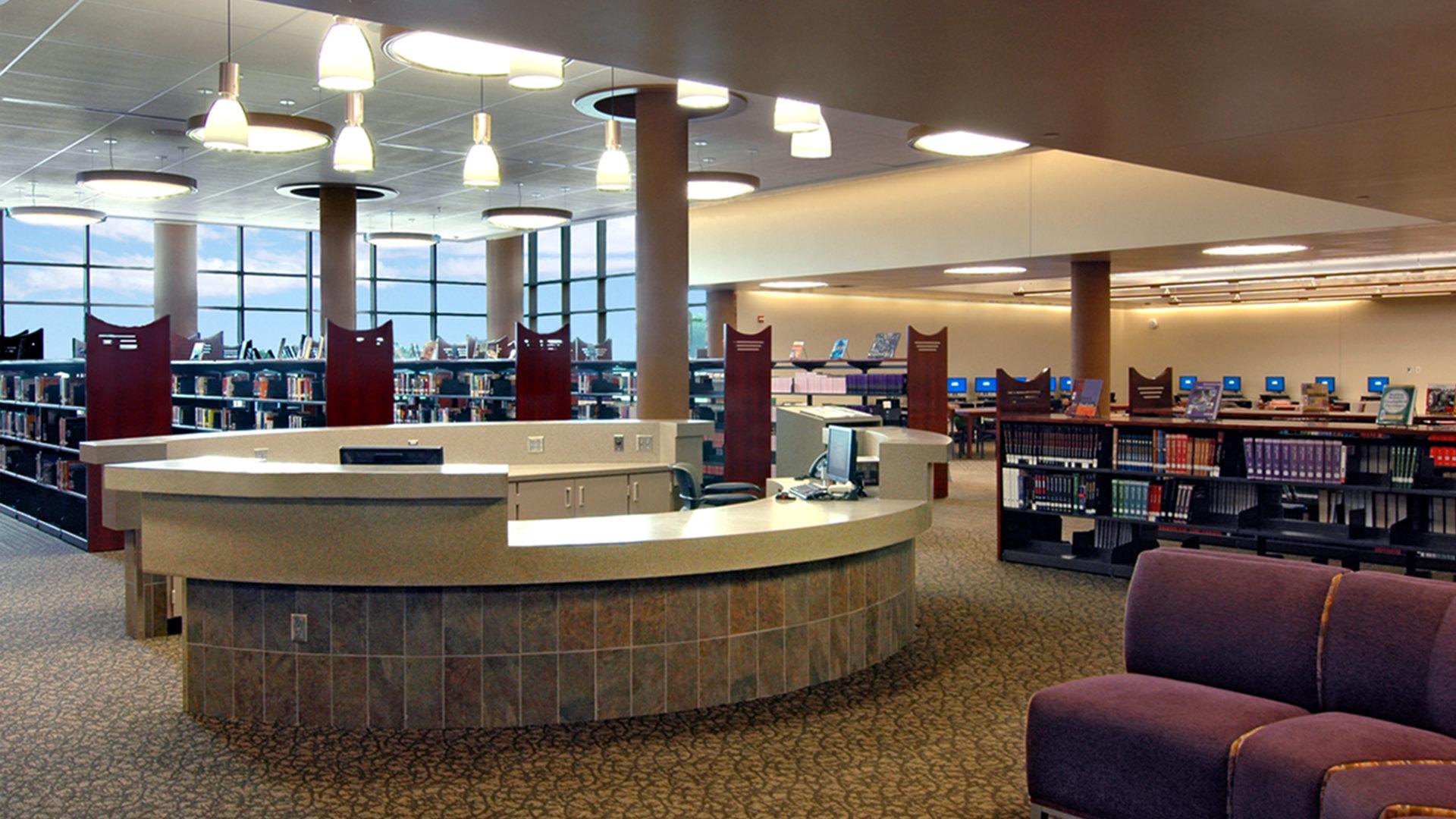 East Ridge High School Library