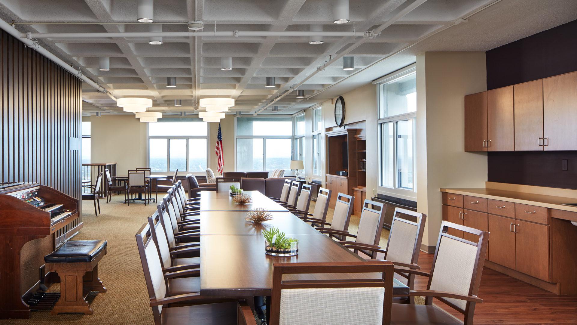 Ebenezer Tower Apartments Interior Dining Room