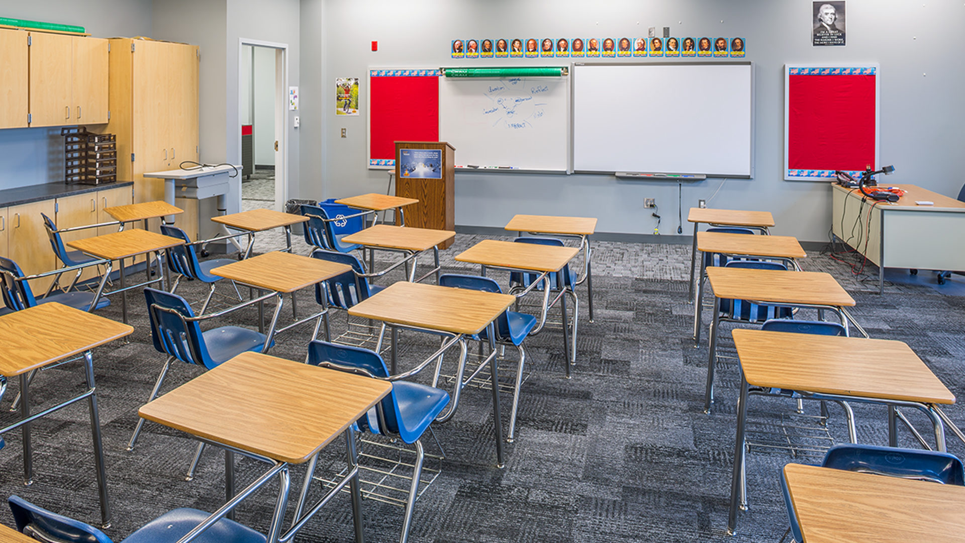 Erik Ramstad Middle School Interior Class Room