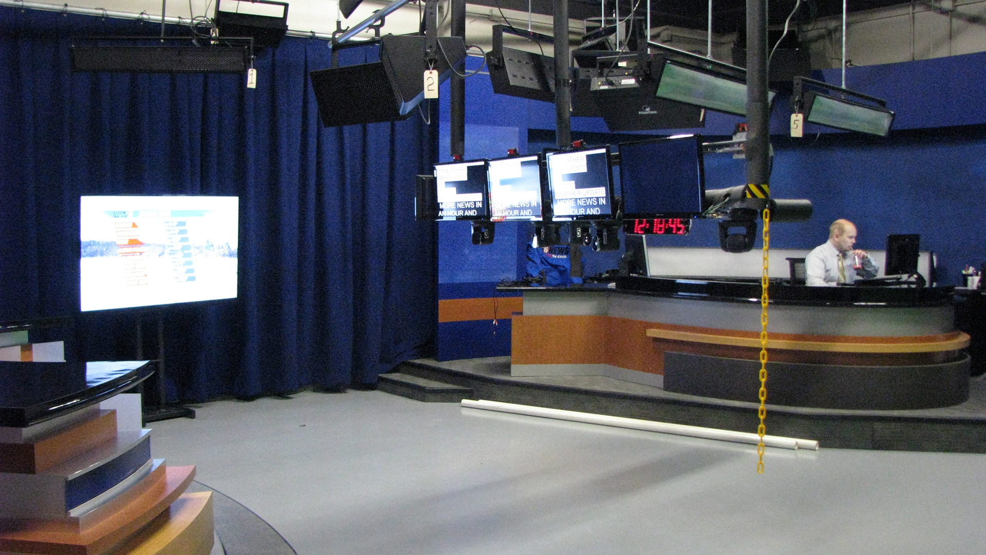 KAAL TV Studio Rochester ABC 6 News Interior Set