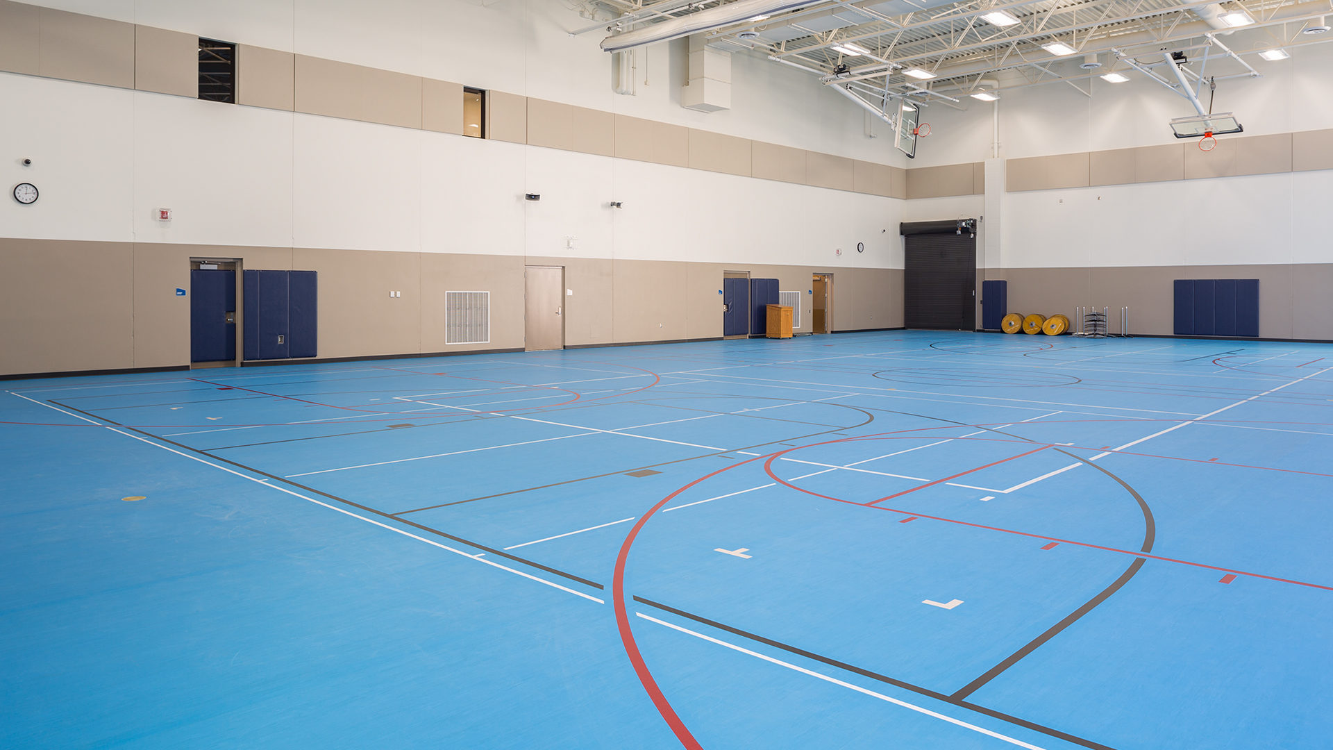 Maslowski Wellness and Research Center Wadena MN Interior Gymnasium