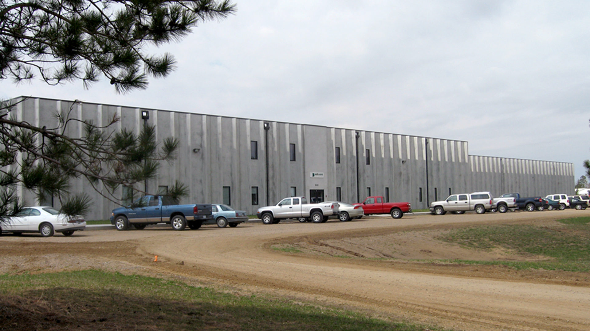 North Central Door Bemidji MN_Manufacturing Facility Exterior Entrance