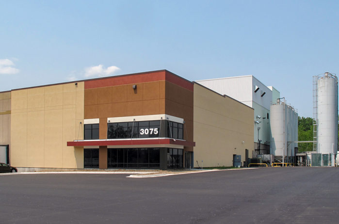 Roseville 3075 Long Lake Road Warehouse Roseville MN Exterior Entrance Close Up View