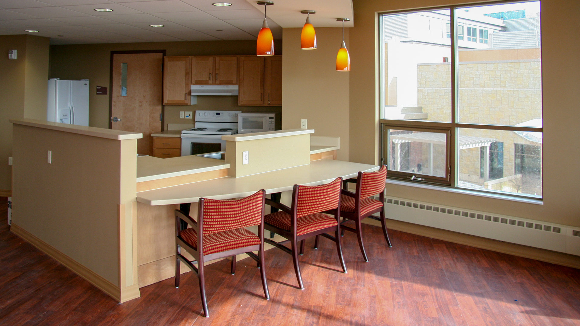 Shaller Sholom East Bentson-Chapman Senior Living Campus St Paul MN Shared Kitchen Area