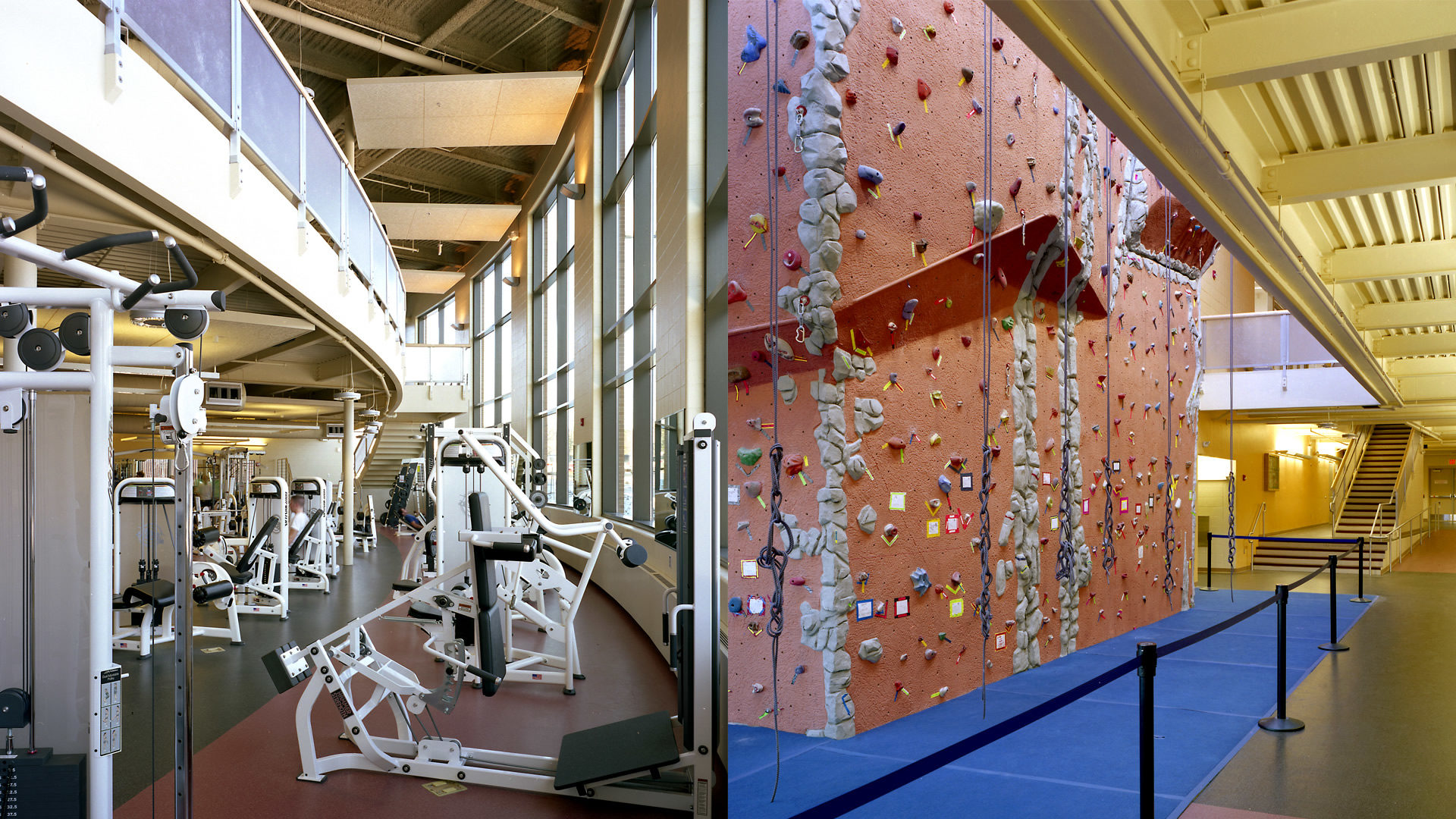 U of M Duluth Sports and Health Center Duluth MN University Fitness Center and Climbing Wall