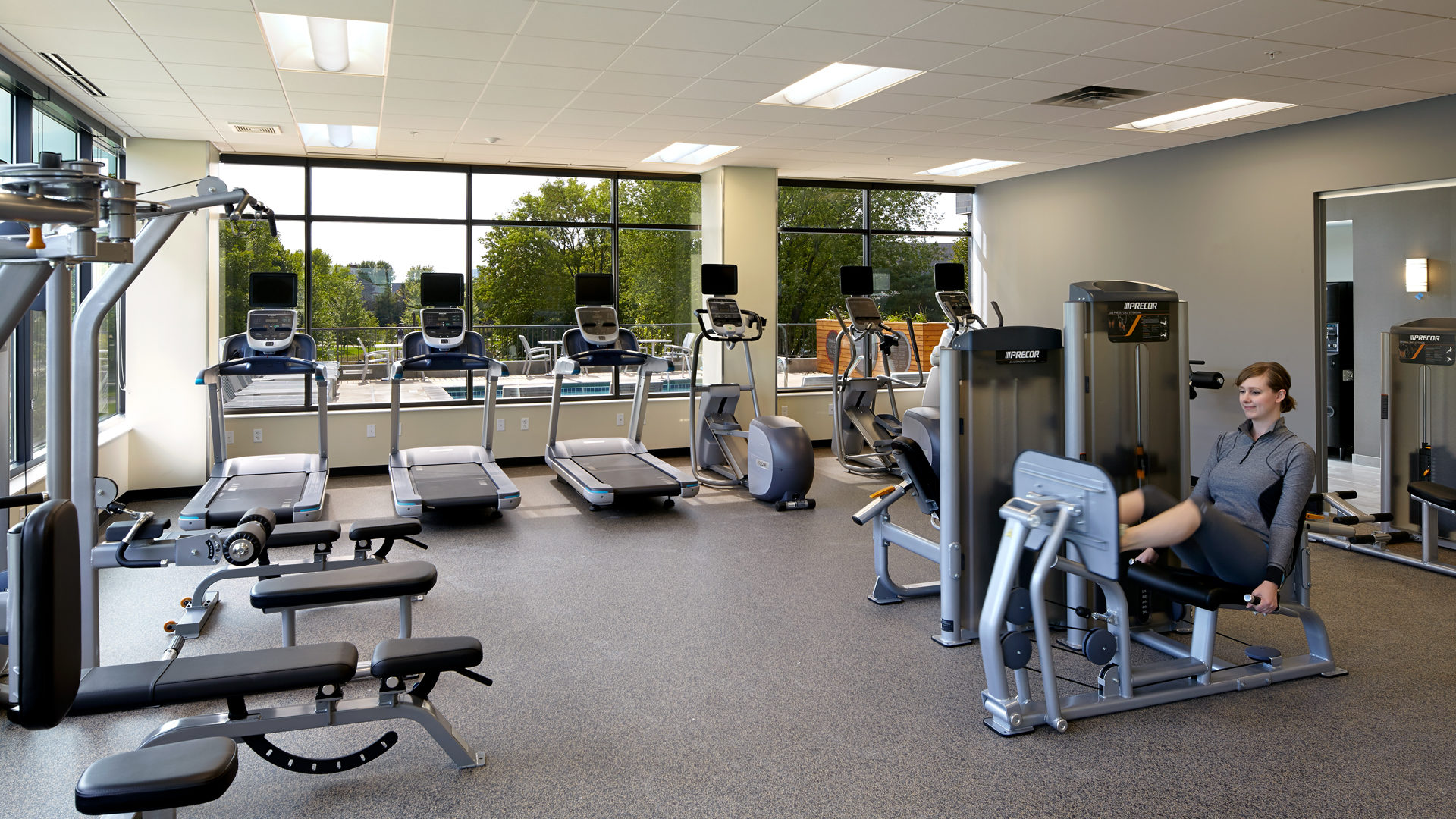 71 France Apartments Interior Fitness Center