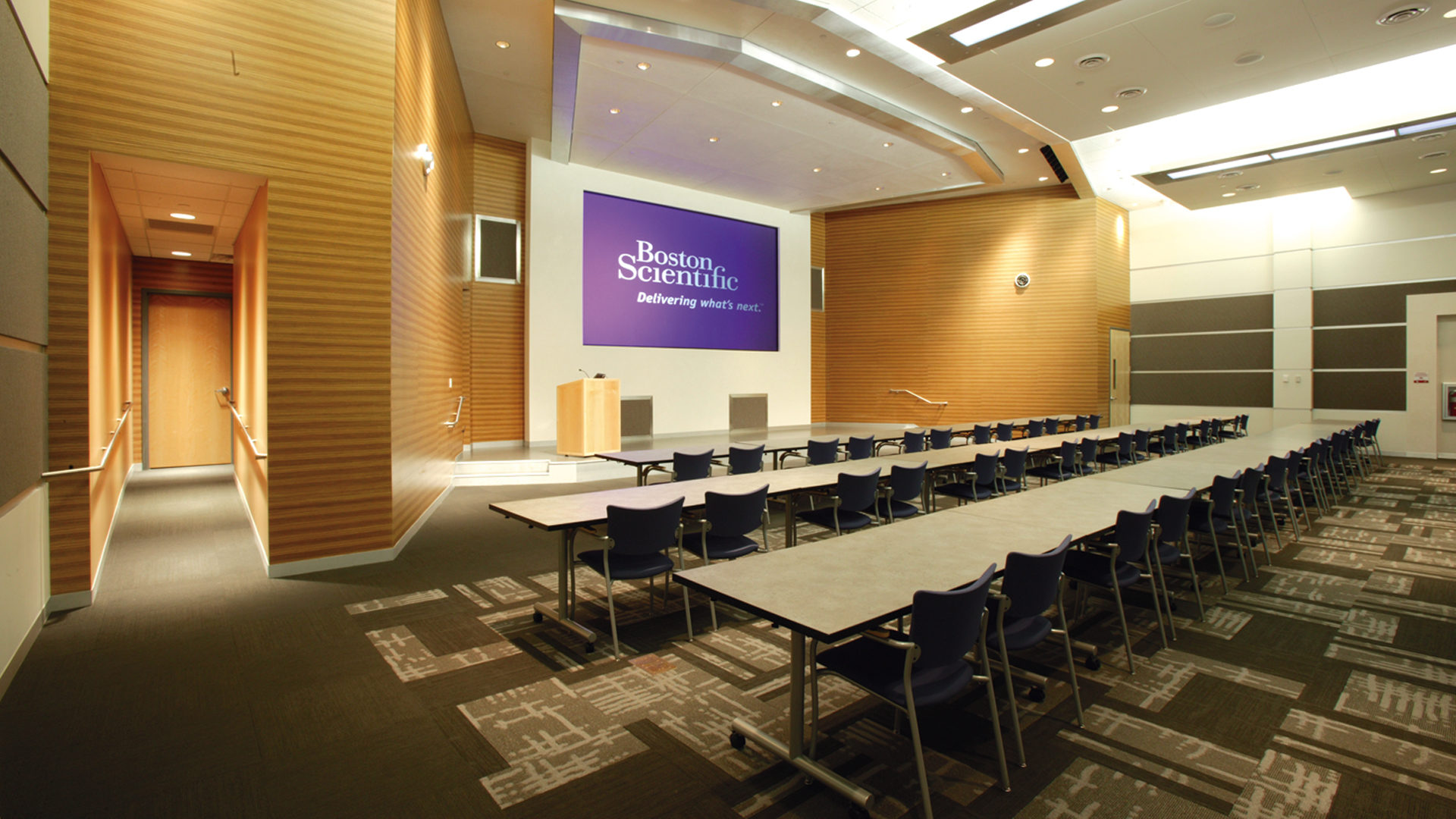 Boston Scientific Weaver Lake Phase III Expansion High Tech Manufacturing Interior Conference Room