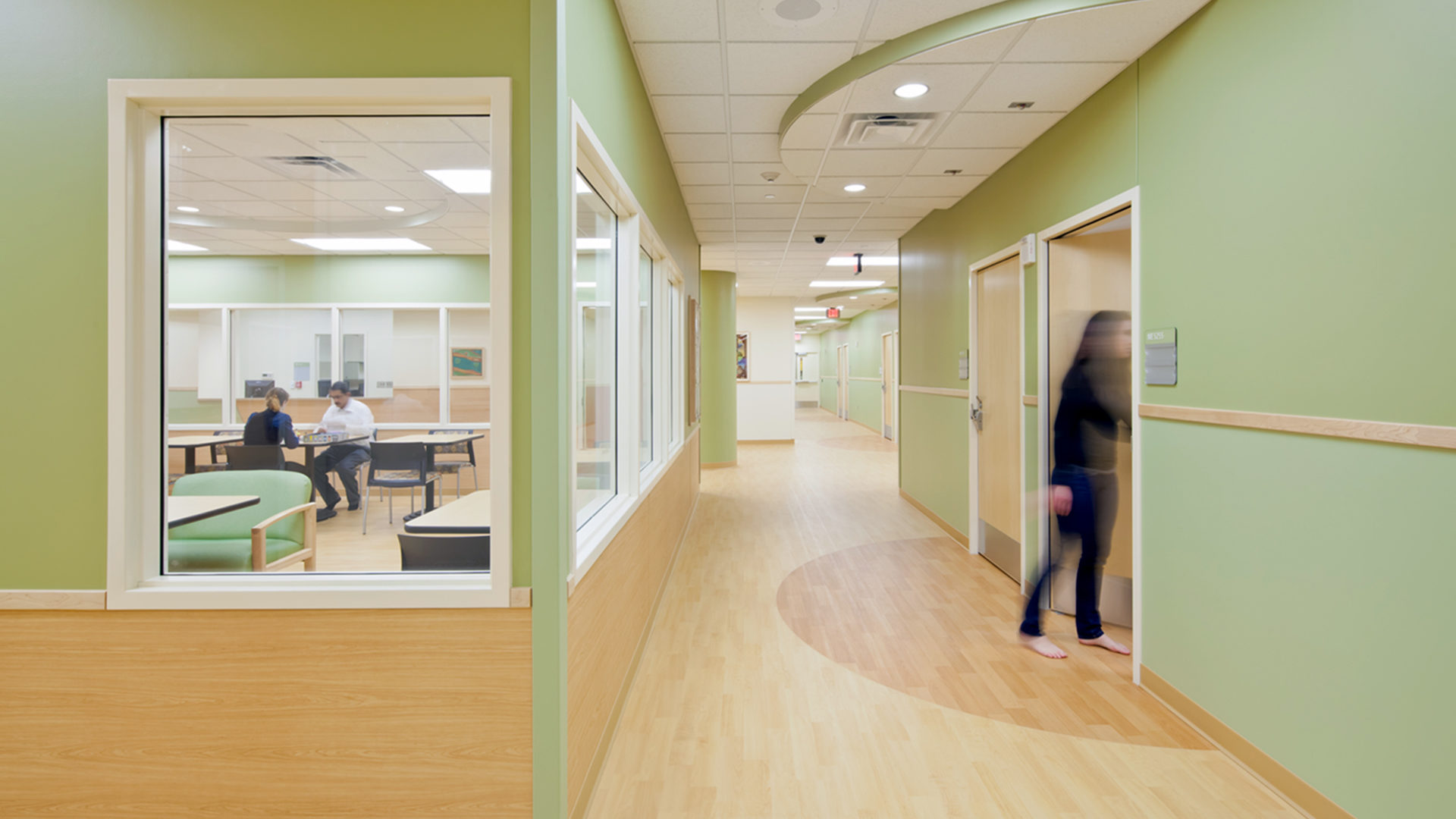Regions Mental Health Center St Paul MN Healthcare Interior Cooridor Patients Rooms and Community Room