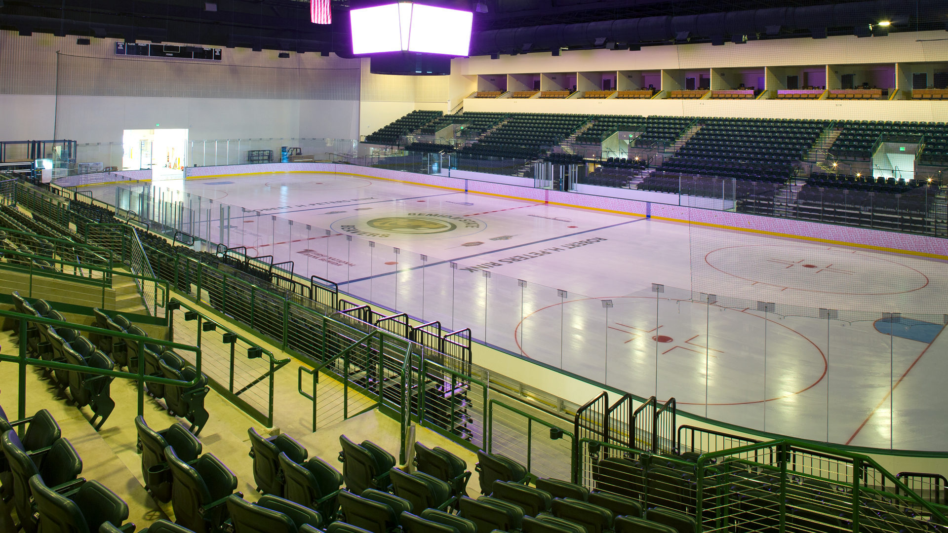 Sanford Center Ice Arena Bemidji MN Government BSU Home Hockey Rink