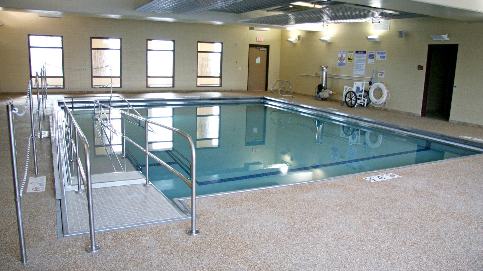 Shaller Sholom East Bentson-Chapman Senior Living Campus St Paul MN Rehab Pool