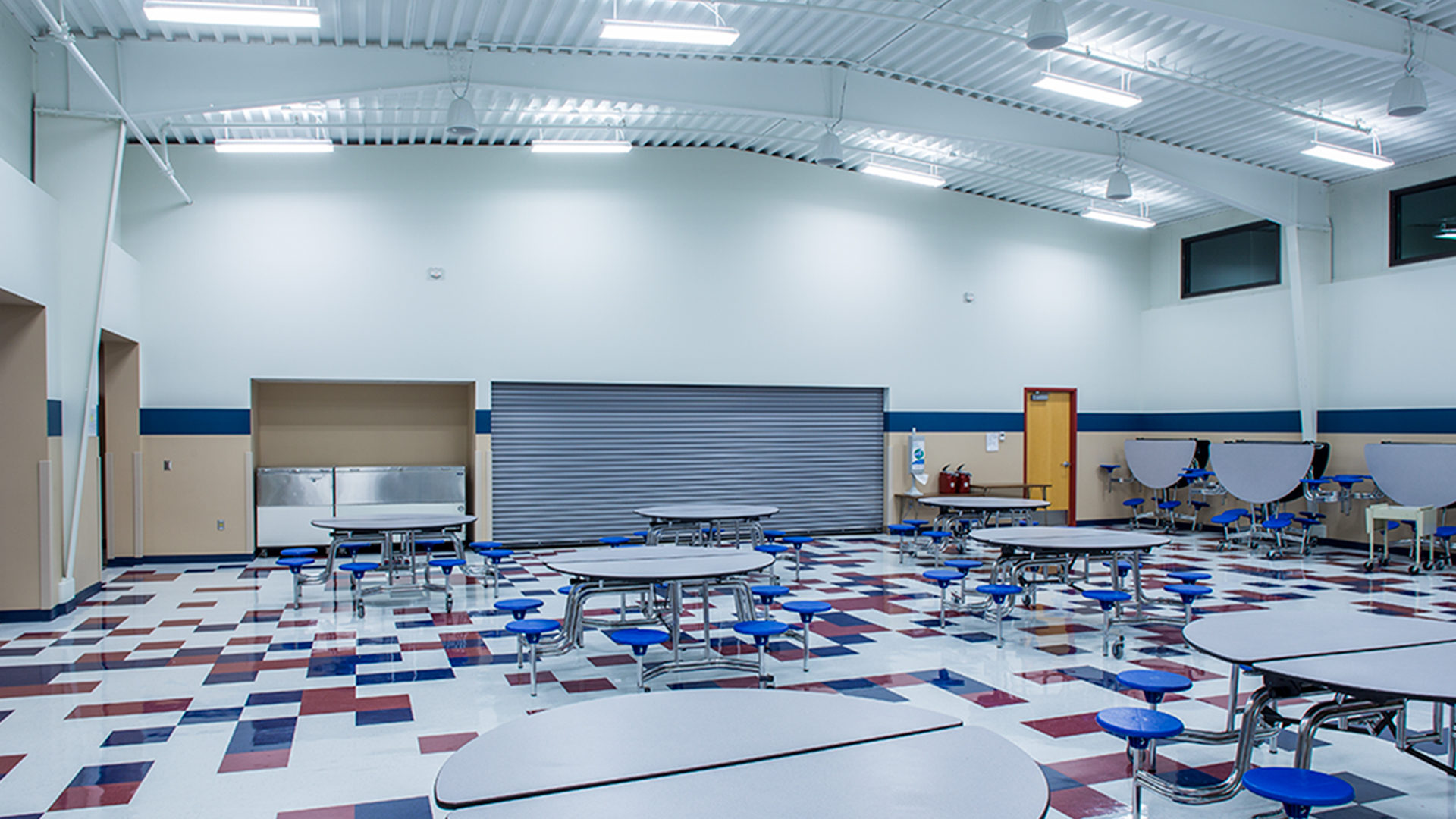 Lewis and Clark Elementary School Minot ND Interior Cafeteria