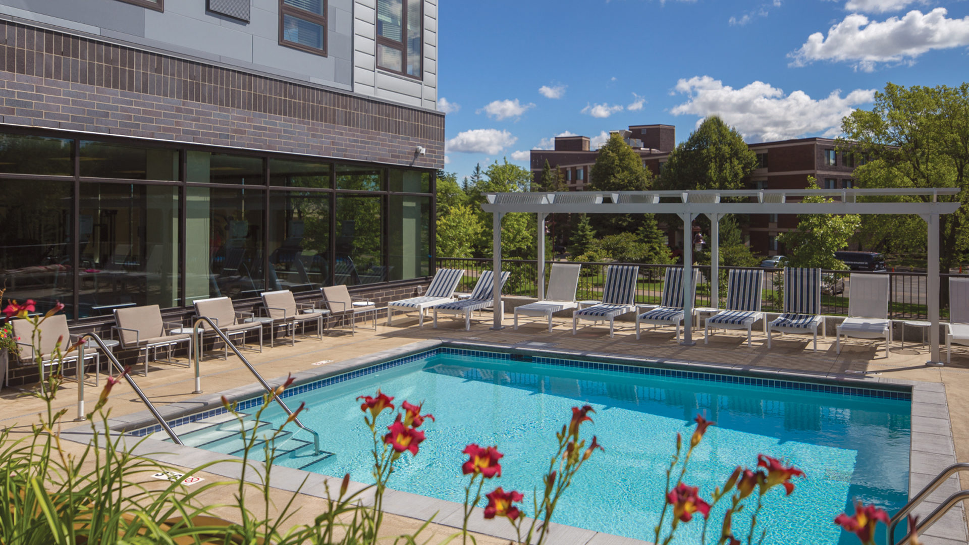 71 France Apartments Exterior Courtyard Pool