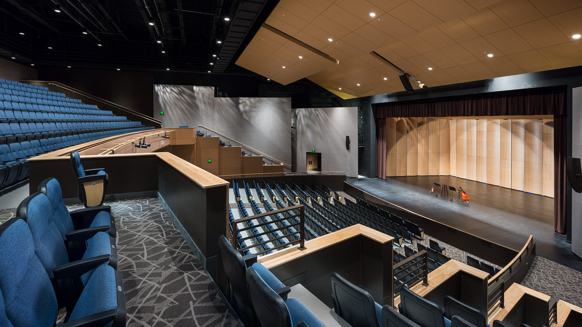 Alexandria High School Interior Performing Arts Theater
