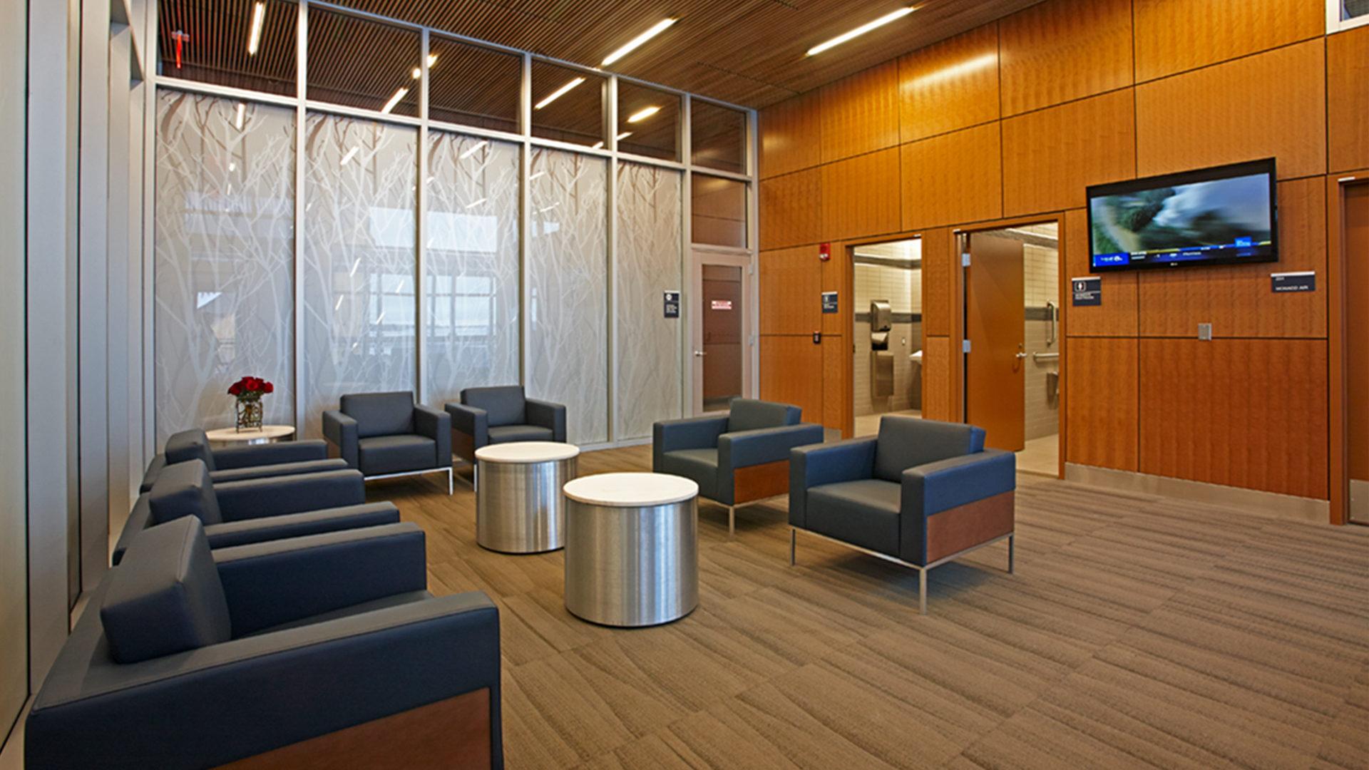 Duluth International Airport Terminal Interior First Class Lounge