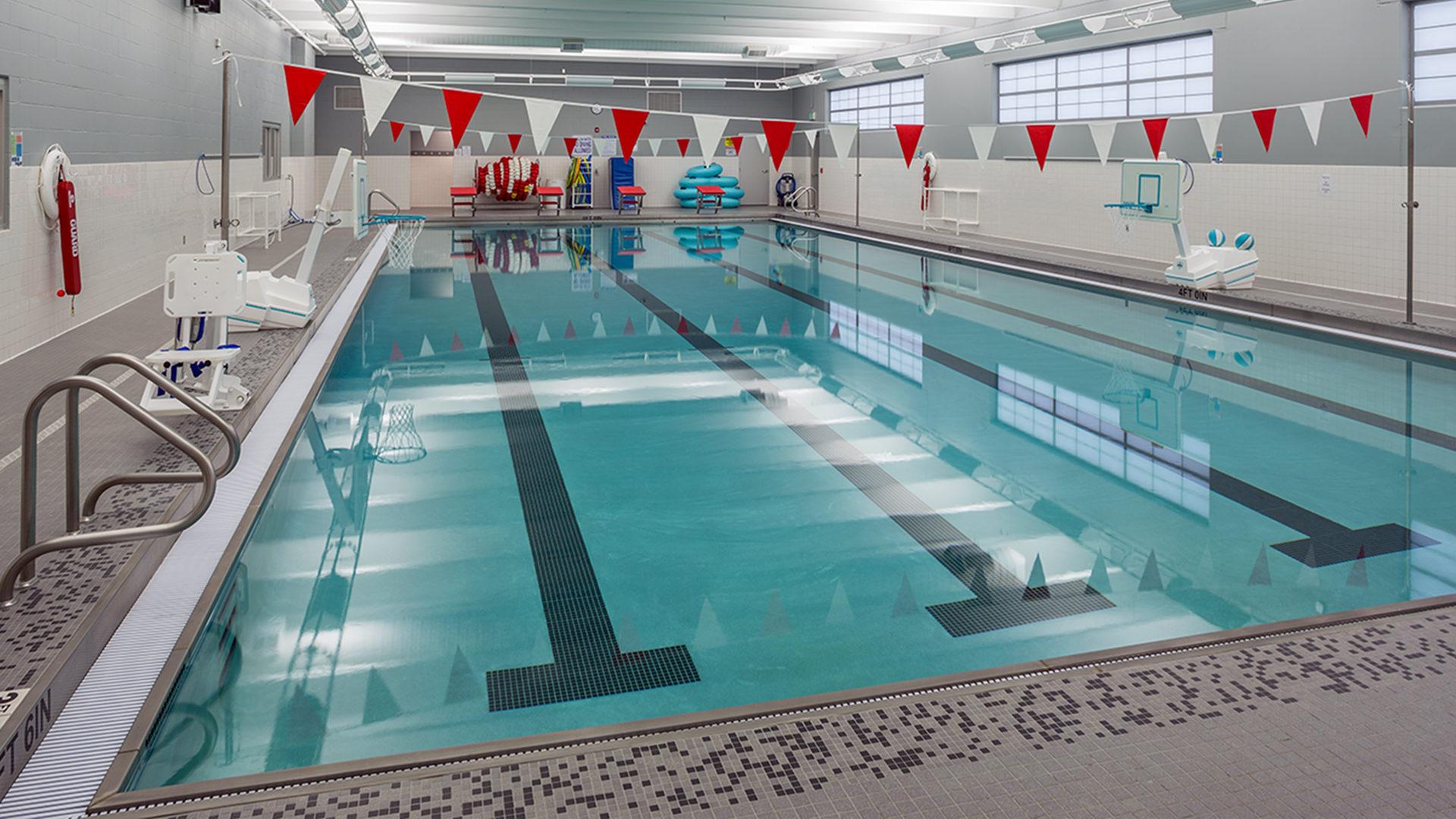 Erik Ramstad Middle School Interior Swimming Pool