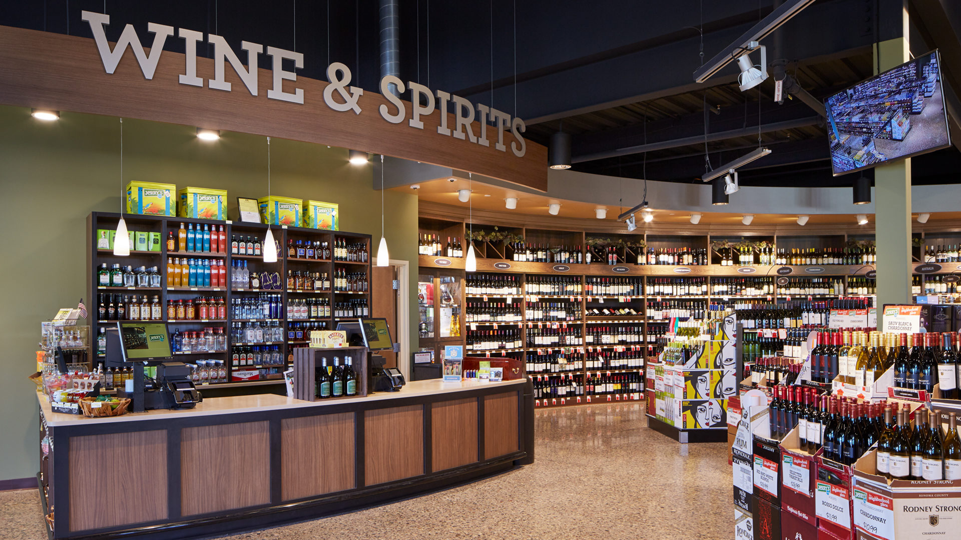Jerrys Foods Grocery Store Woodbury Wine and Spirits Store