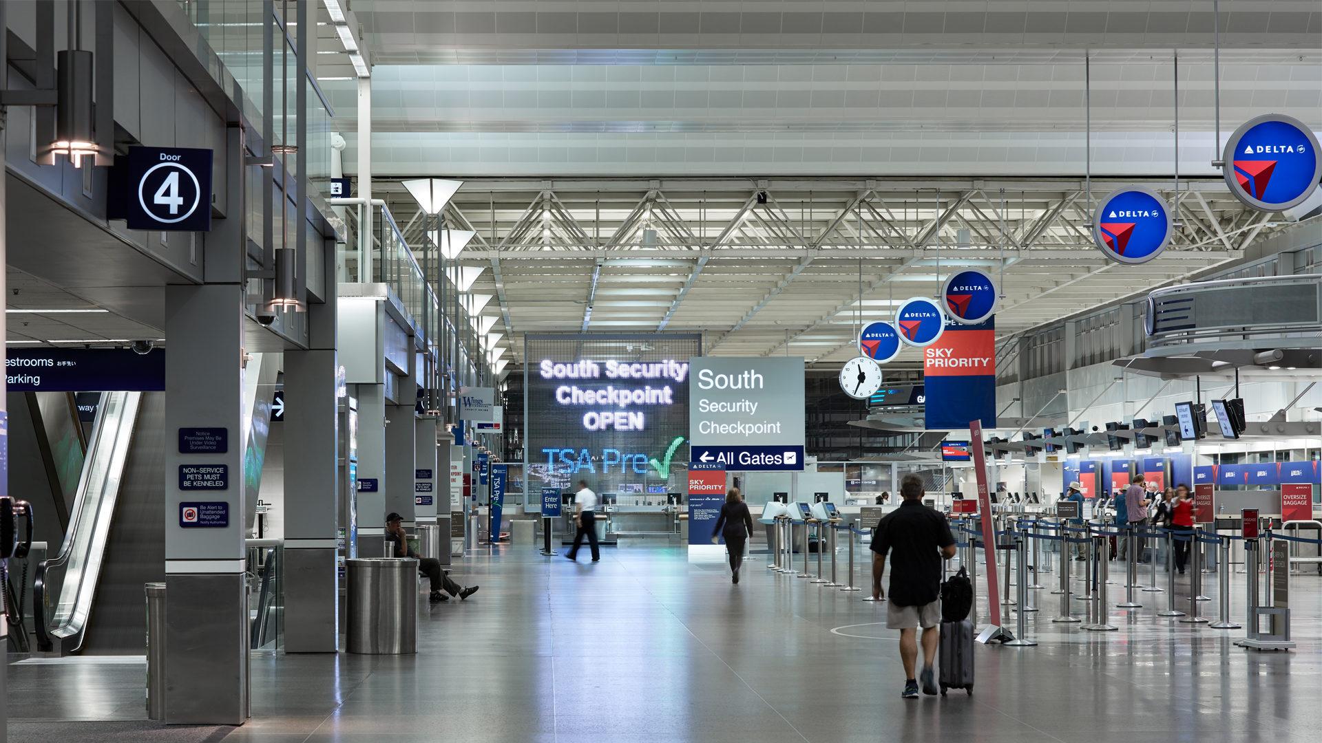 MAC T2-Humphrey Terminal Bloomington_South Security Check Point