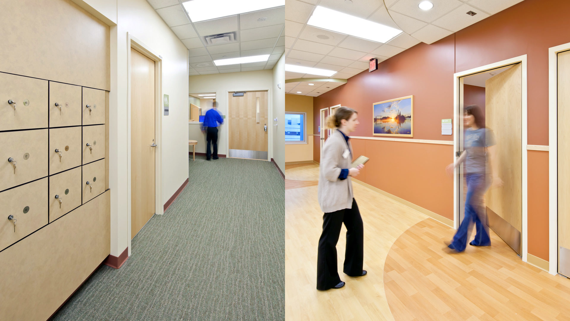 Regions Mental Health Center St Paul MN Healthcare Personal Storage Lockers and Patient Room