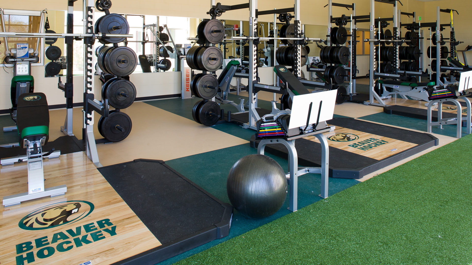 Sanford Center Ice Arena Bemidji MN Government BSU Weight Room