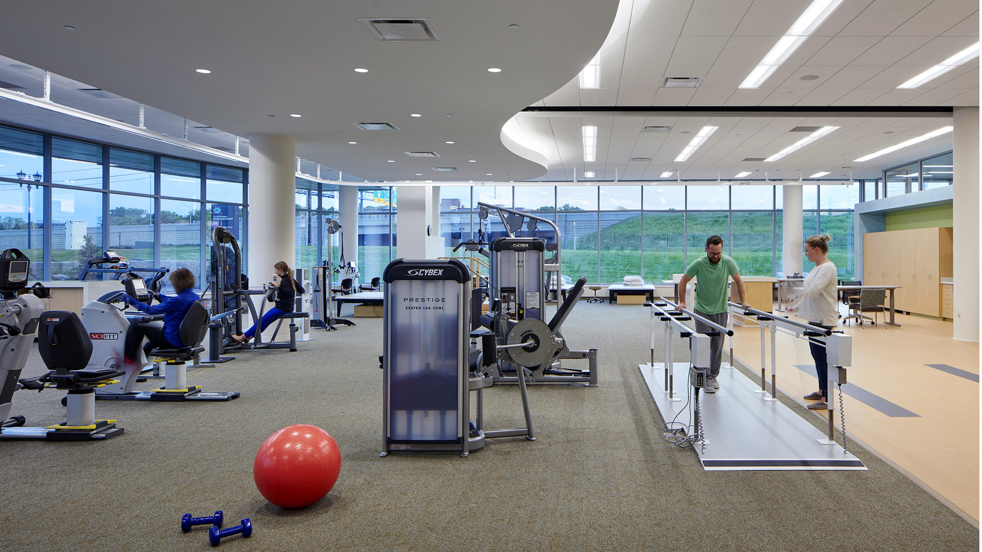 HealthPartners Neuroscience Center Rehab Gym