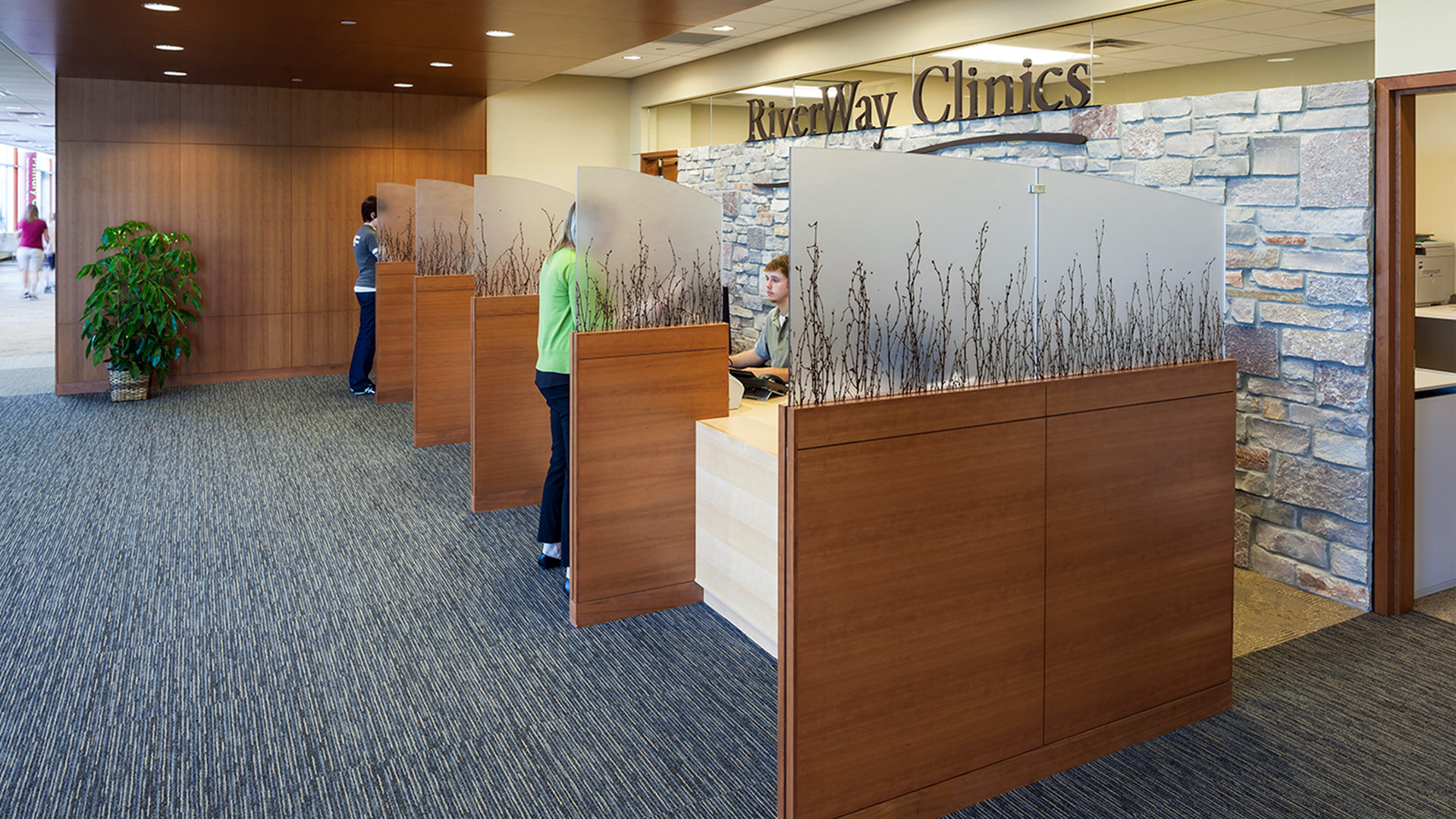 HealthPartners Riverway Clinic Anoka Interior Check In