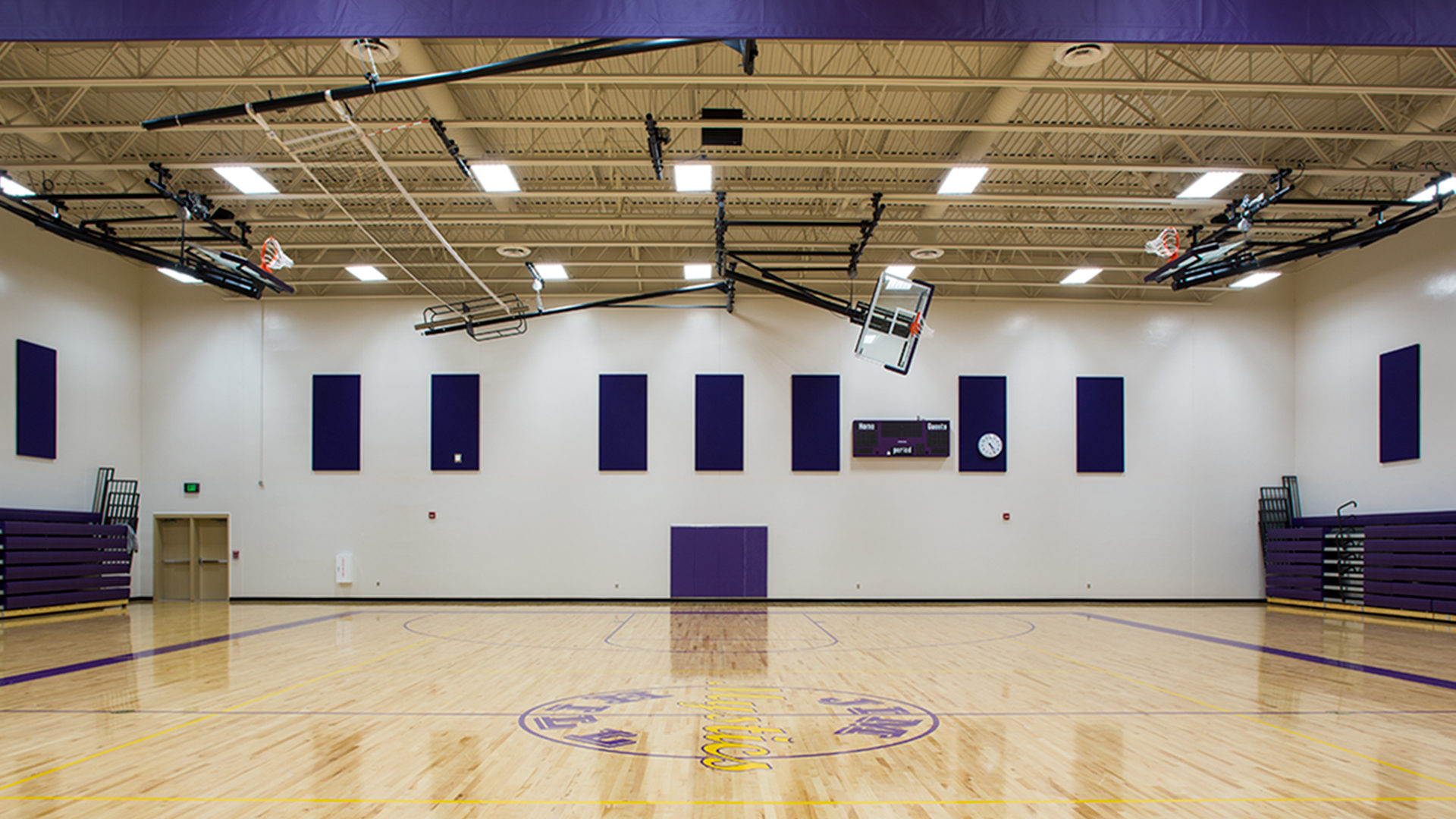 Jim Hill Middle School Minot ND Interior Gymnasium