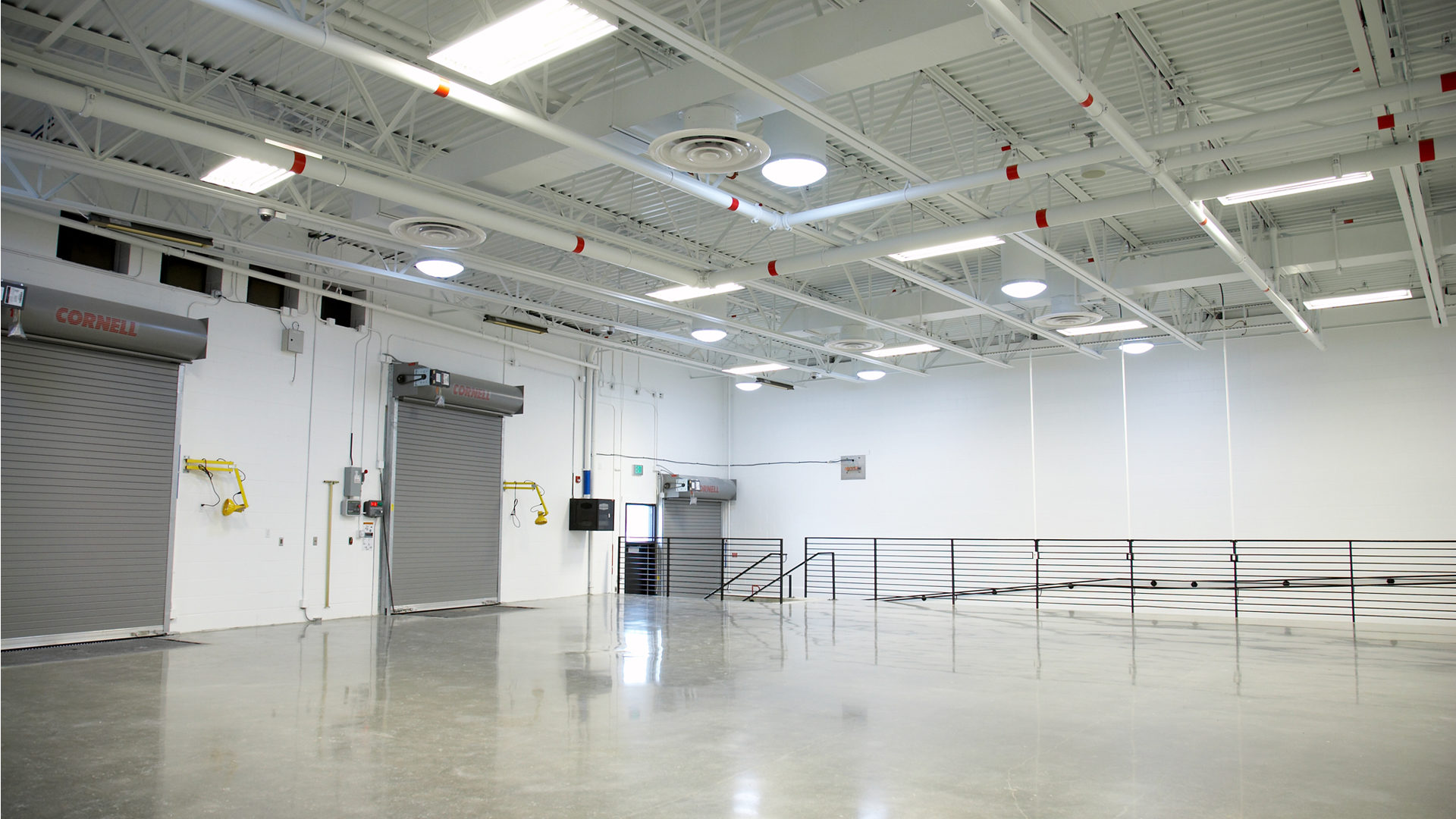 US Land Port of Entry Government Interior Reception Garage Warehouse Space
