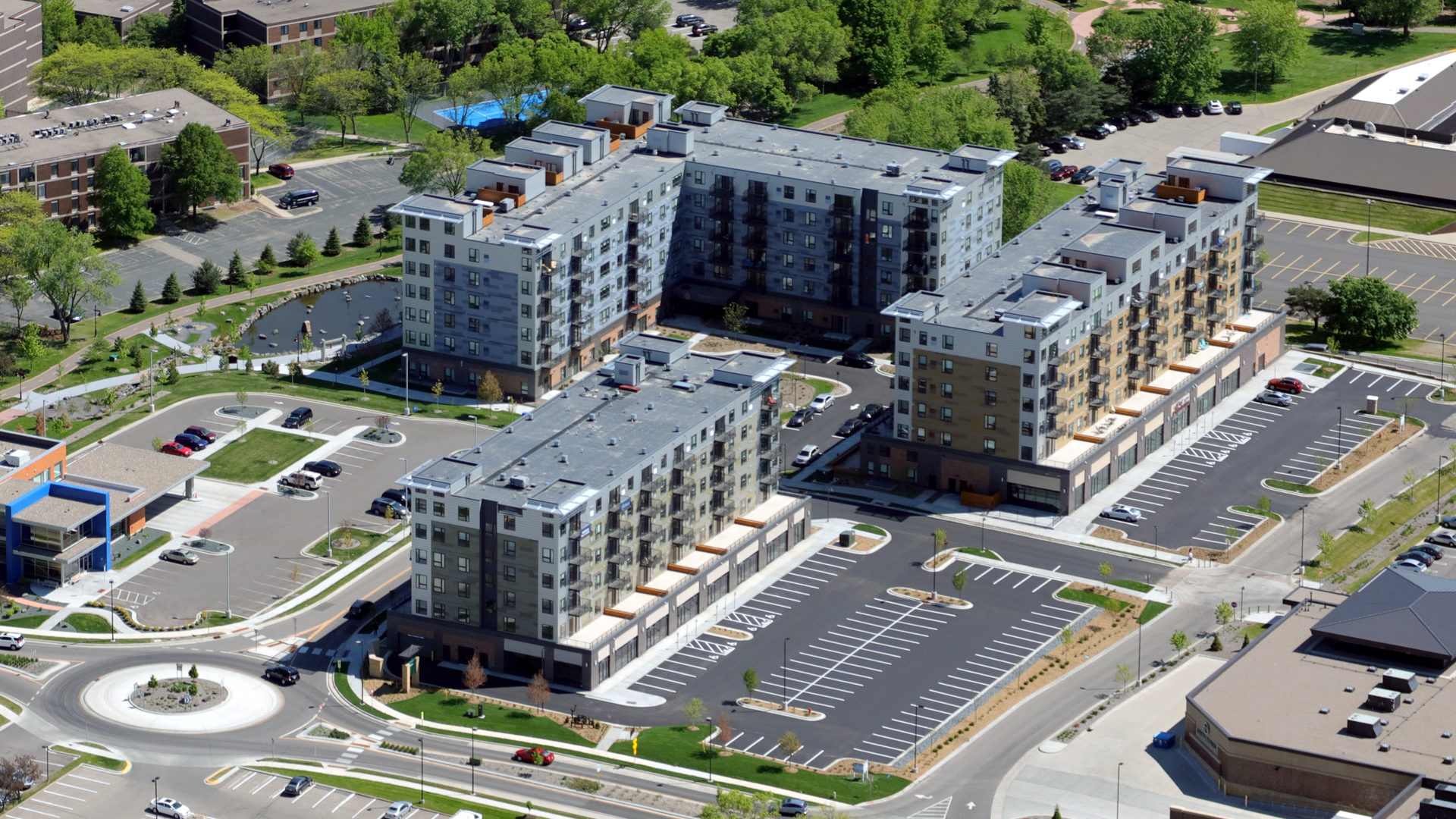 71 France Apartments Exterior Aerial View