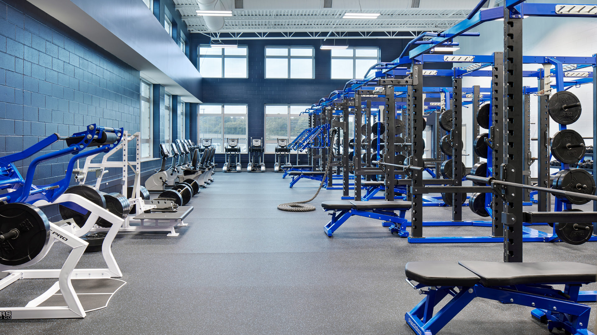 St Peter High St Peter MN Education Weight Room