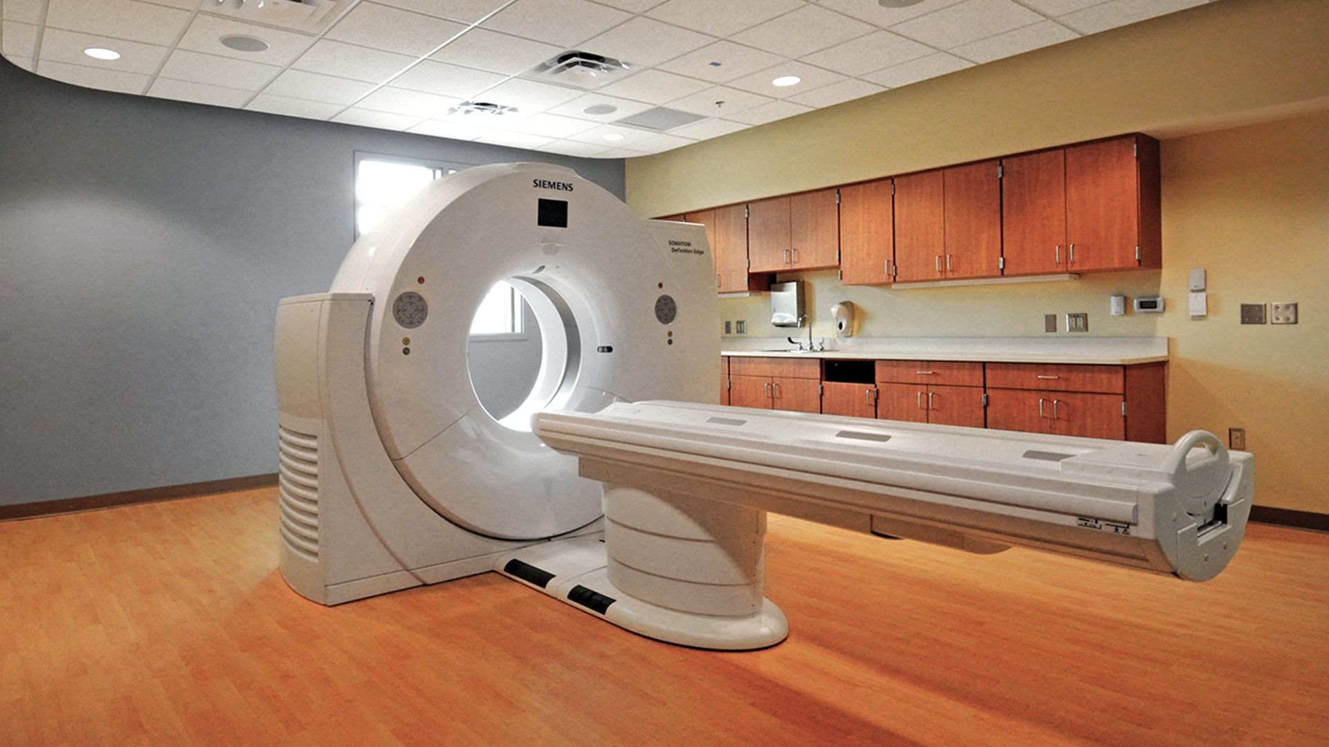 Fairview Ridges Specialty Care Center Burnsville Interior Open MRI